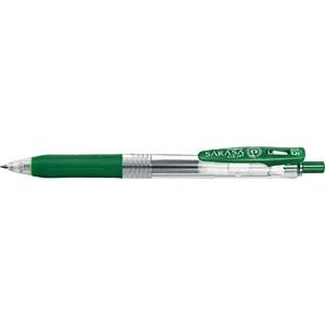 ゼブラZEBRA[ゲルインクボールペン]サラサクリップ0.5(ボール径:0.5mm、インク色:ビリジアン)JJ15-VIR[JJ15VIR]