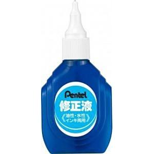 ぺんてるPentel[修正液]修正液<油性・水性インキ両用>ブリスターパック入りXEZL1-W[XEZL1W]
