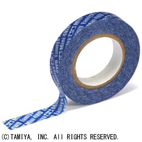 タミヤTAMIYA【ミニ四駆】マルチテープ(10mm幅ブルー)