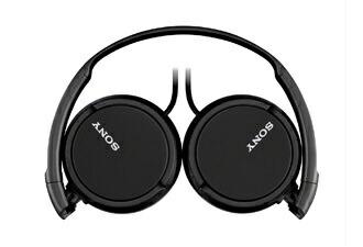 ソニーSONYヘッドホンMDR-ZX110ブラック[φ3.5mmミニプラグ][MDRZX110B]