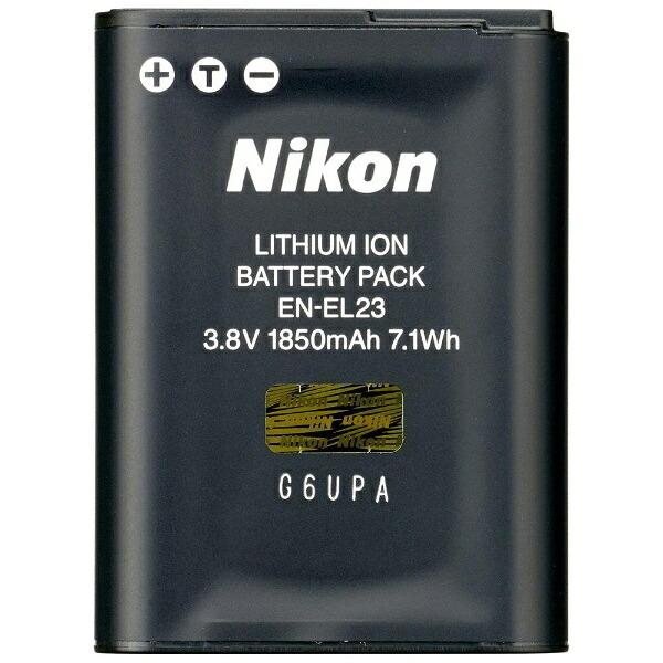 ニコンNikonLi-ionリチャージャブルバッテリーEN-EL23[ENEL23]