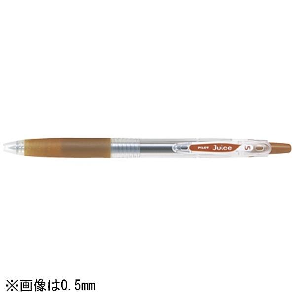 パイロットPILOT[ゲルインキボールペン]ジュース(ボール径:太字1.0mm)ブラウンLJU-10M-BN[LJU10MBN]