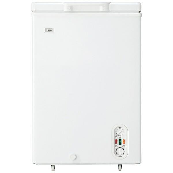 ハイアールHaier冷凍庫LiveSeriesホワイトJF-WNC103F[1ドア/上開き/103L][JFWNC103F]