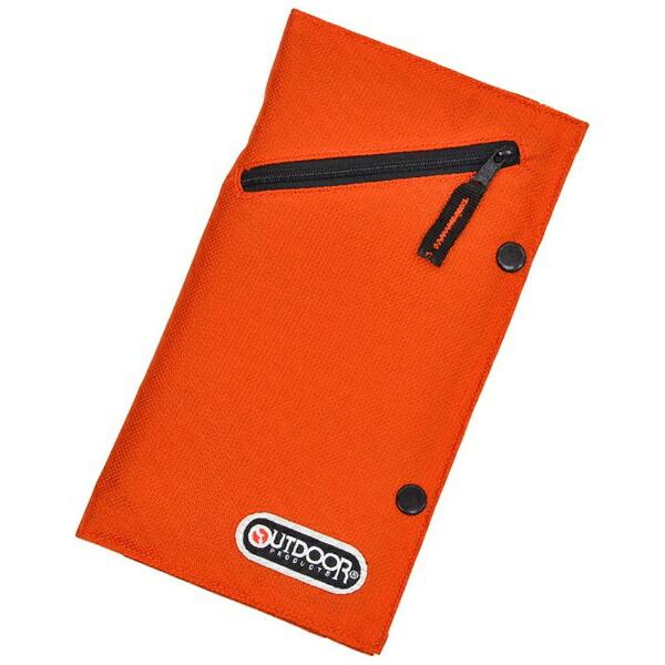 アウトドアプロダクツOUTDOORPRODUCTSパスポートケースOD021オレンジ[OD021OR]