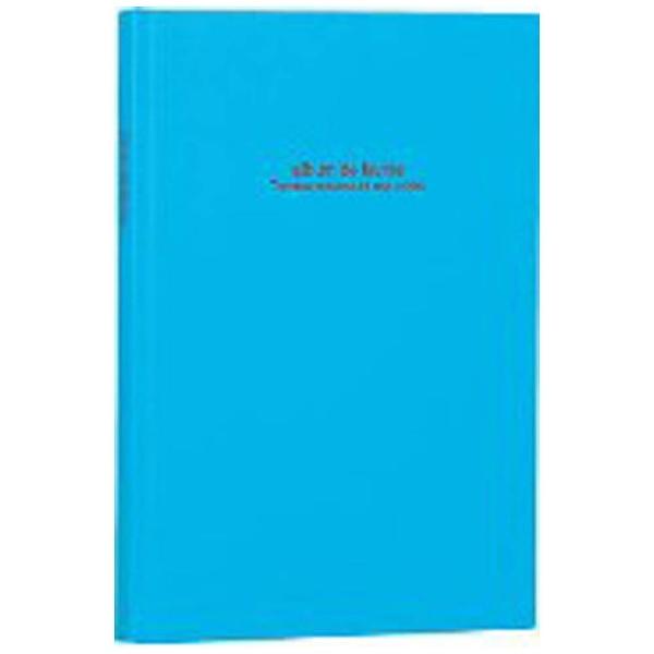 ナカバヤシNakabayashi100年台紙アルバム/ドゥファビネ(B5サイズ/ブック式フリーアルバム/ブルー)アH-B5B-141-B[アHB5B141B]