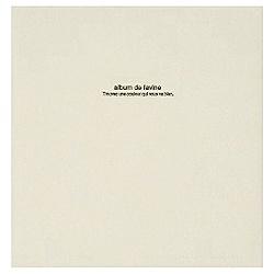 ナカバヤシNakabayashi100年台紙「ドゥファビネ」(Lサイズ/ホワイト)アH-LD-191-W[アHLD191W]