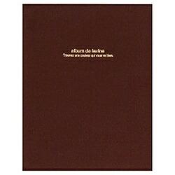 ナカバヤシNakabayashi100年台紙「ドゥファビネ」(A4サイズ/ブラウン)アH-A4D-161-S[アHA4D161S]