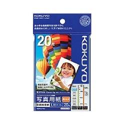 コクヨKOKUYOインクジェットプリンター用写真用紙印画紙原紙高光沢(L判・20枚)KJ-D12L-20[KJD12L20]【wtcomo】