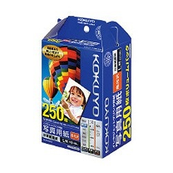 """コクヨKOKUYOIJP用写真用紙""""印画紙原紙高光沢(L判・250枚)白色度98%程度KJ-D12L-250[KJD12L250]【wtcomo】"""