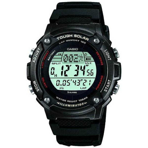 カシオCASIO[ソーラー時計]スポーツギア(SPORTSGEAR)W-S200H-1BJF[WS200H1BJF]