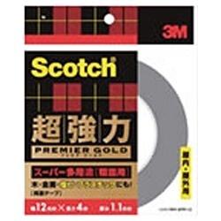 3Mジャパンスリーエムジャパンスコッチ超強力両面テーププレミアゴールド(スーパー多用途)粗面用SPR-12[SPR12]