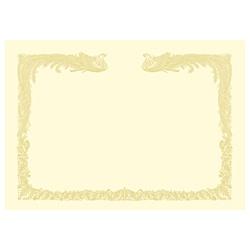 ササガワSASAGAWAOA賞状用紙雲なし縦書き用(A3・100枚)クリーム10-1487[101487]
