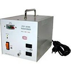 日章工業NISSYOINDUSTRY変圧器(ダウントランス)「トランスフォーマSDXシリーズ」(220/240V・1100W)SDX-1100[SDX1100W220V]