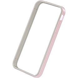 パワーサポートPOWERSUPPORTiPhone4S/4用フラットバンパーセット(パールピンク)PHC-64[PHC64]
