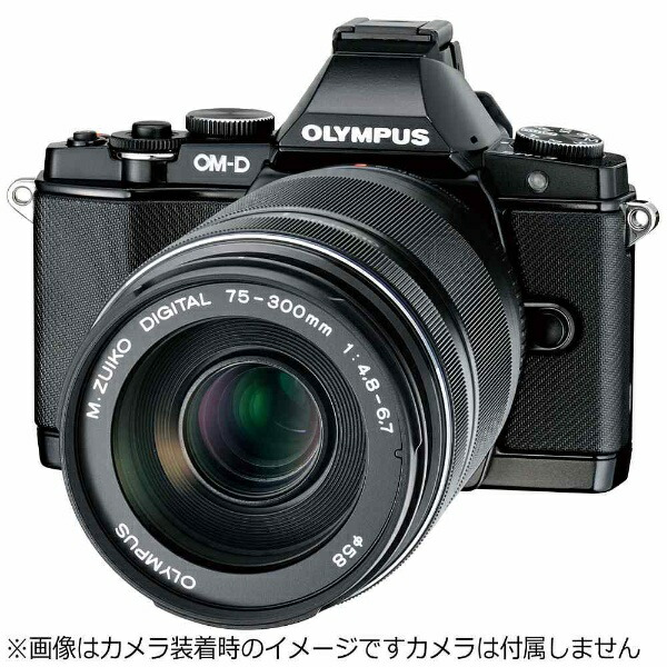 オリンパスカメラレンズM.ZUIKODIGITALED75-300mmF4.8-6.7II【マイクロフォーサーズマウント】[ED75300MMF4.86.7II]