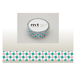カモ井加工紙KAMOImtマスキングテープ(スクエア・ピンク)MT01D179