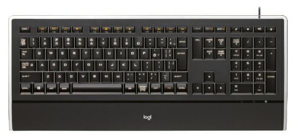 ロジクールLogicoolK740キーボードIlluminatedKeyboardブラック[USB/コード][K740]