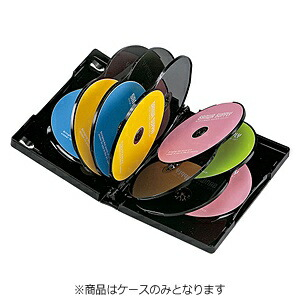サンワサプライSANWASUPPLYDVD/CD対応トールケース12枚収納×3ブラックDVD-TW12-03BK[DVDTW1203BK]【rb_pcp】