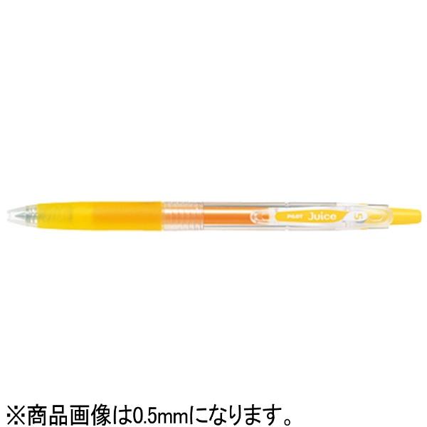 パイロットPILOT[ゲルインキボールペン]ジュース(ボール径:細字0.7mm)イエローLJU-10F-Y[LJU10FY]