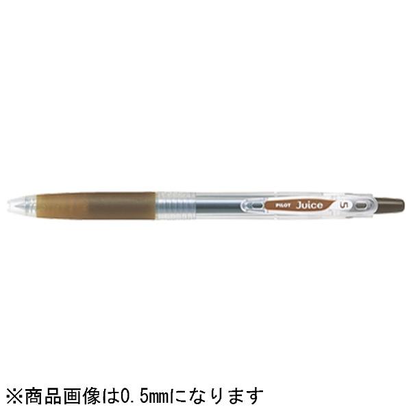 パイロットPILOT[ゲルインキボールペン]ジュース(ボール径:超極細0.38mm)コーヒーブラウンLJU-10UF-CB[LJU10UFCB]