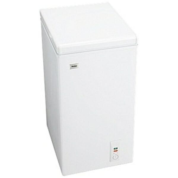 ハイアールHaier冷凍庫LiveSeriesホワイトJF-NC66F[1ドア/上開き/66L][冷凍庫小型家庭用JFNC66F]