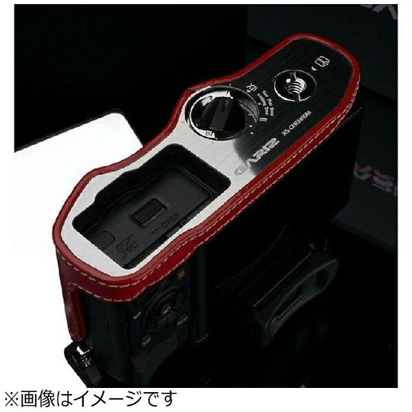 Kカンパニー本革カメラケース【オリンパスOM-DE-M10用】(レッド)XS-CHEM10R[XSCHEM10R]
