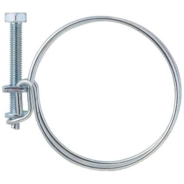 トラスコ中山ネジ式ワイヤバンド締付径52~58mm10個入TWB58
