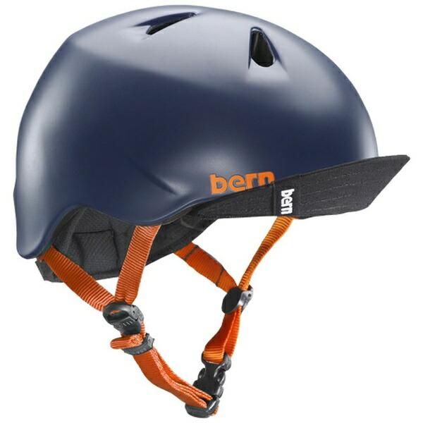 BERNバーン子供用ヘルメットNINOALLSEASON(MatteNavy/S-Mサイズ:51.5〜54.5cm)BE-VJBSNVV-12