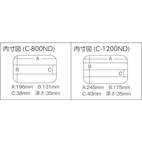 明邦化学工業MEIHOクリアーケースC-800ND