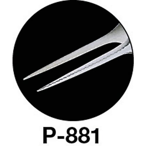ホーザンHOZANピンセット120mmP881