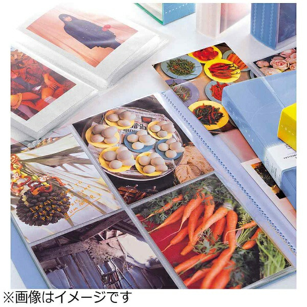 リヒトラブLIHITLAB.リクエスト・スーパーヴュー・ポストカードアルバム(40枚収納×4冊)G8101