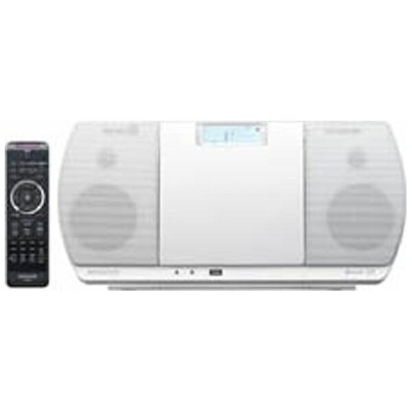 ケンウッドKENWOOD【ワイドFM対応】Bluetooth対応ミニコンポ(ホワイト)CR-D3-W[ワイドFM対応/Bluetooth対応][CDコンポCRD3W]