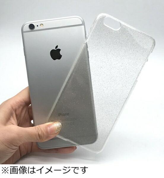 オズマOSMAiPhone6Plus用PCラメ入ジャケットクリアcpcl-ip06pc[CPCLIP06PC]