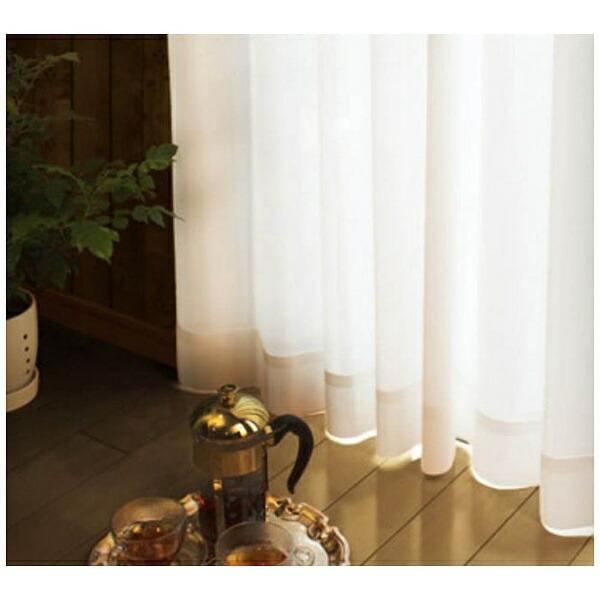 スミノエSUMINOEレースカーテンクリスタ(100×133cm/ナチュラルホワイト)【日本製】[V1812100X133]