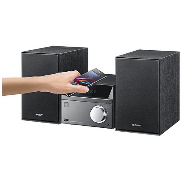 ソニーSONYミニコンポCMT-SBT40SC[ワイドFM対応/Bluetooth対応][CDコンポCMTSBT40SC]