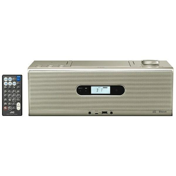 JVCジェイブイシーCDラジオRD-W1シャンパンゴールド[Bluetooth対応/ワイドFM対応/ハイレゾ対応][RDW1N]