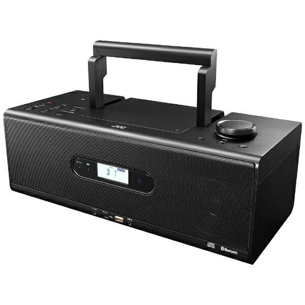 JVCジェイブイシーRD-W1CDラジオブラック[Bluetooth対応/ワイドFM対応/ハイレゾ対応]