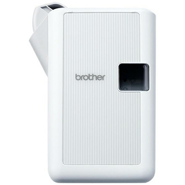 ブラザーbrotherPT-J100WラベルライターP-touch(ピータッチ)ホワイト[PTJ100W]