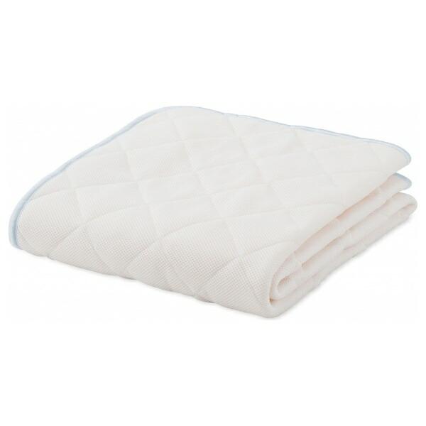 フランスベッドFRANCEBED【ベッドパッド】モイスケアメッシュパッドセミシングルサイズ(85×195cm/ホワイト)フランスベッド