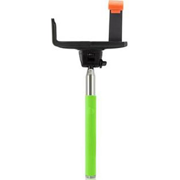 エンポリオ自分撮りスティックsmastickスマスティック(手元シャッタータイプBluetooth接続/ライトグリーン)SS-03RGR[SS03RGR]