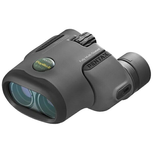 ペンタックスPENTAX6.5倍双眼鏡「Uシリーズ」PAPILIOII6.5×21(ブラック)[PAPILIOII6.5X]