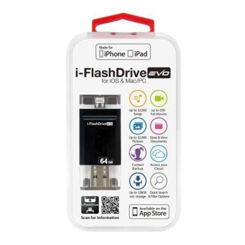 PhotoFastフォトファーストIFDEVO64GBUSBメモリ[64GB/USB3.0/USBTypeA+Lightning]