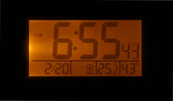 リズム時計RHYTHM目覚まし時計【フィットウェーブアビスコ】8RZ167SR38[デジタル/電波自動受信機能有]