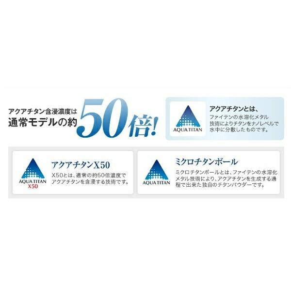 ファイテンPHITEN【ビックカメラグループオリジナル】RAKUWAネックX50ハイエンドIII(ネイビー×シルバー/50cm)0215TG668053【point_rb】