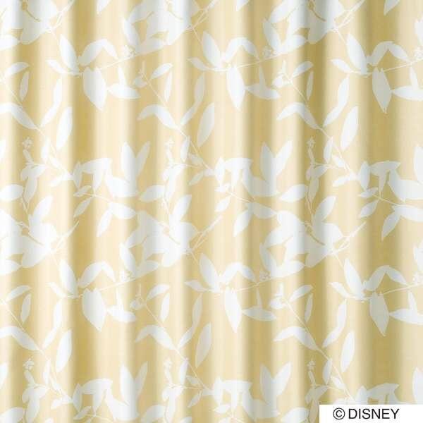 スミノエSUMINOEドレープカーテンミッキー/ブロードリーフ(100×200cm/ベージュ)【日本製】[生産完了品在庫限り][M1122100X200]