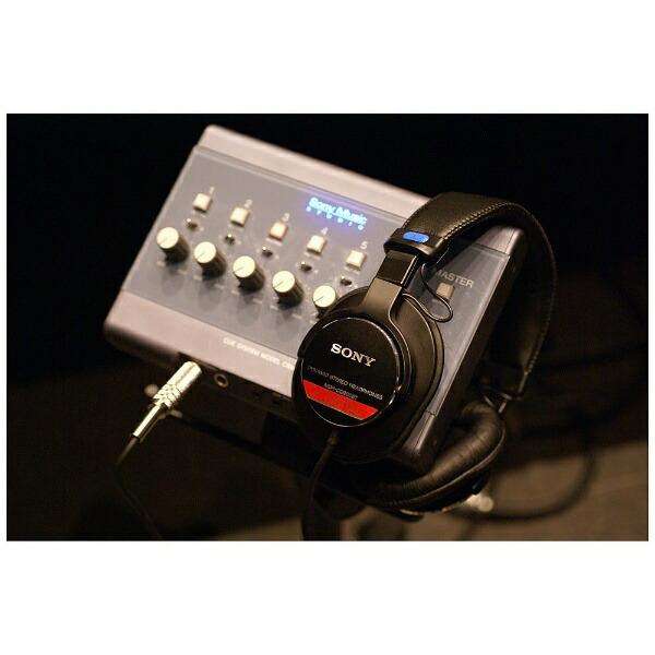 ソニーSONY6.3mm標準ヘッドホンMDR-CD900ST【プロ機材・メーカー保証なし・修理受付不可】[スタジオモニターMDRCD900ST]