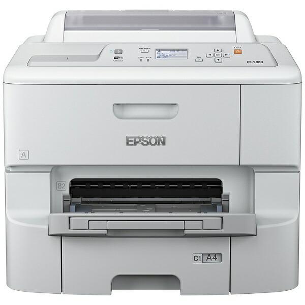 エプソンEPSONPX-S860インクジェットプリンタービジネスプリンターホワイト[L判〜A4][ハガキ印刷プリンター][PXS860]