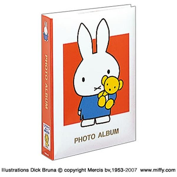 ナカバヤシNakabayashiディック・ブルーナ「ミッフィー」1PLポケットアルバム(Lサイズ3段300枚収納/レッド)1PL-158-R[1PL158R]