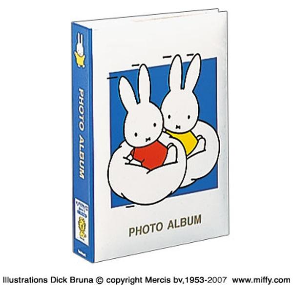 ナカバヤシNakabayashiディック・ブルーナ「ミッフィー」1PLポケットアルバム(Lサイズ3段300枚収納/ブルー)1PL-158-B[1PL158B]