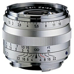 カールツァイスCarlZeissカメラレンズCSonnarT*1.5/50ZM【ライカMマウント】(シルバー)[CSONNART*1550ZM]